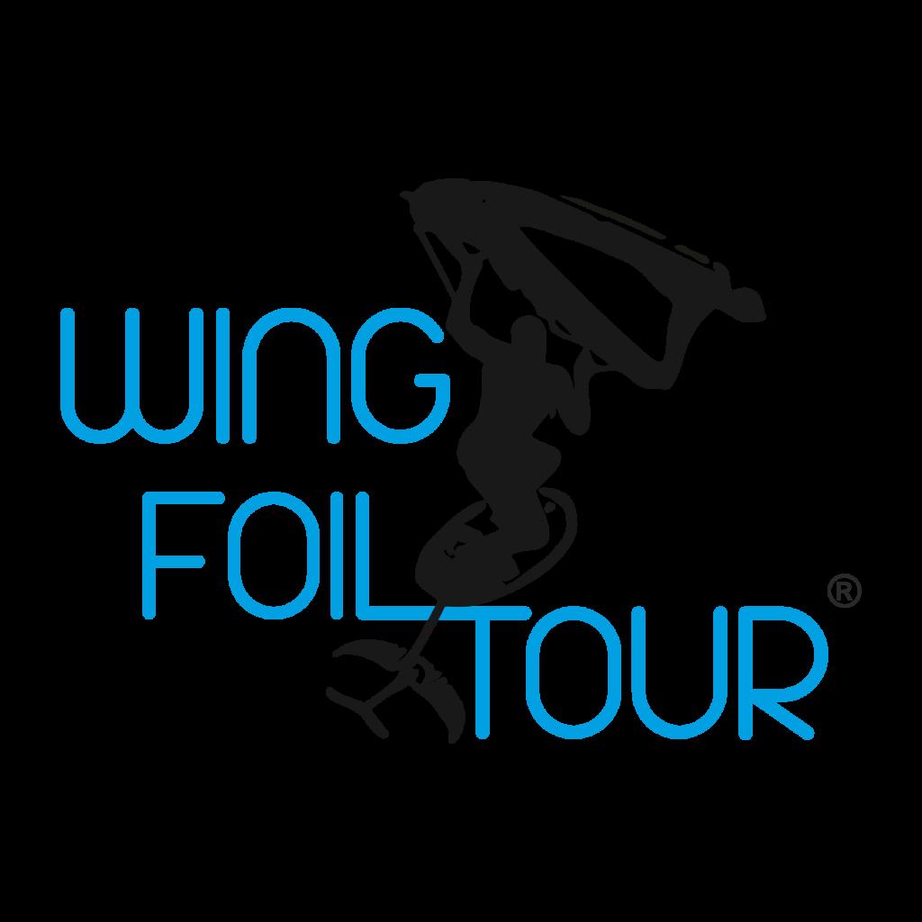 Wing Foil Tour Logo Black