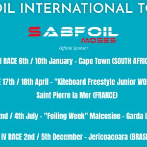 Wing Foil Tour International calendar 2021